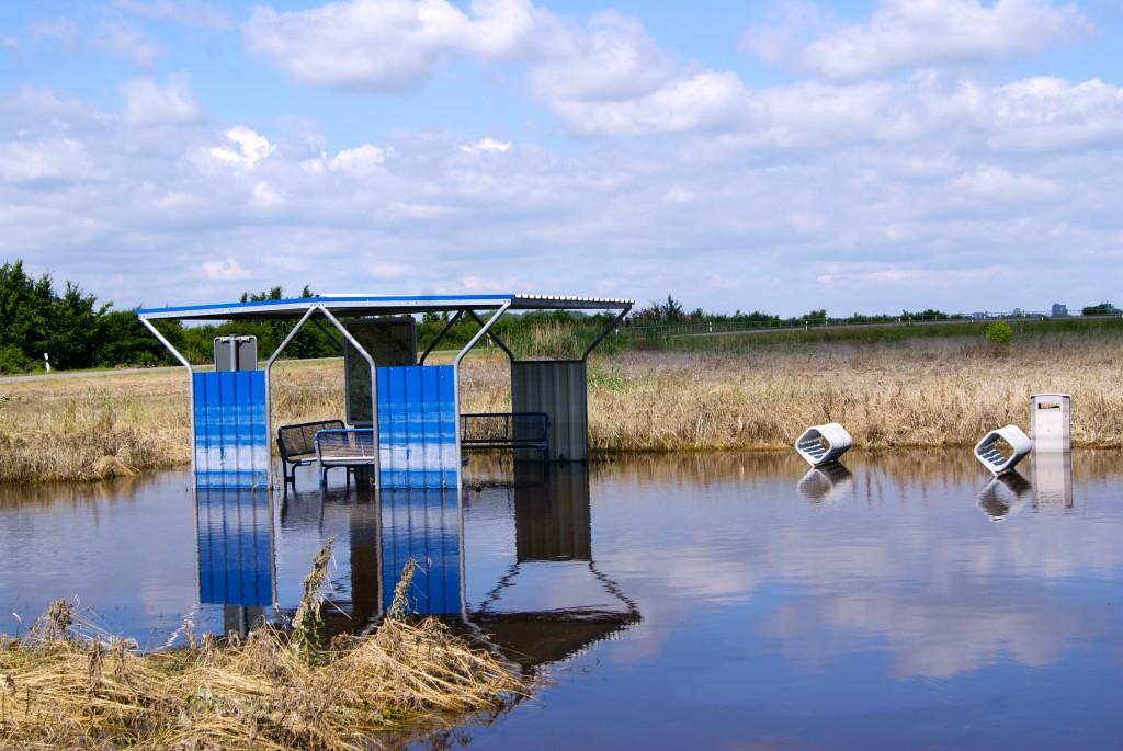 Innondations Elbe-