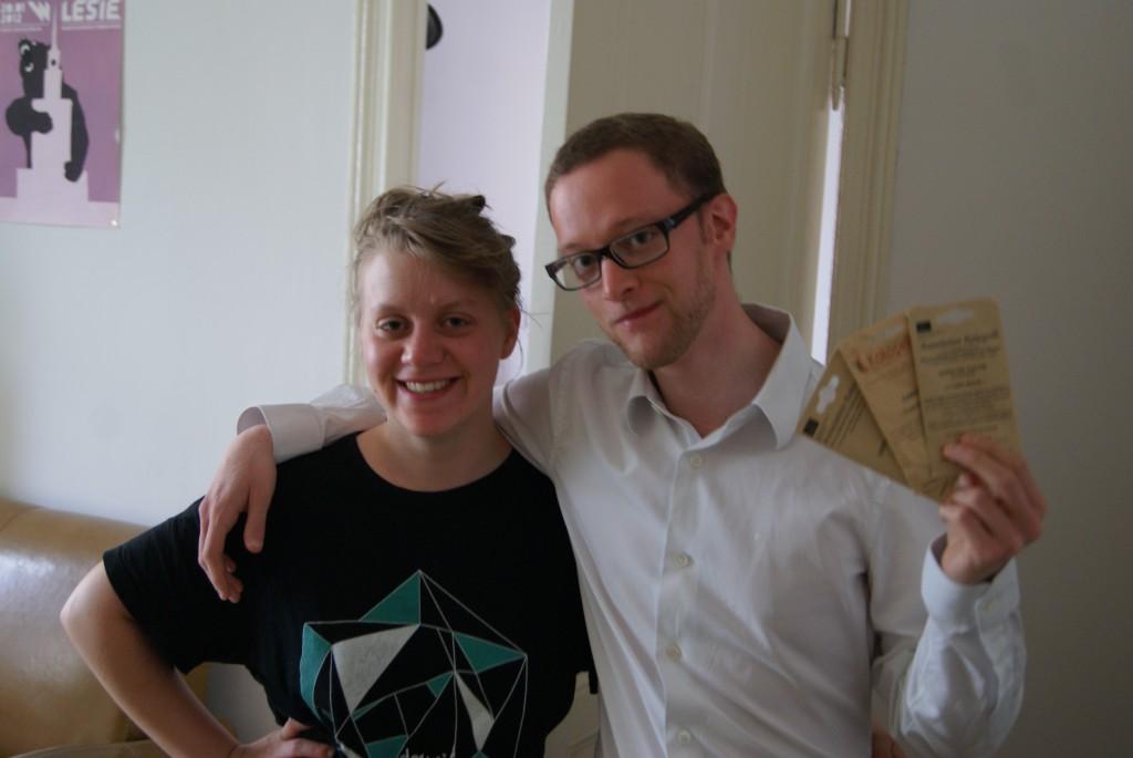 Florentin, ami du collège pas vu depuis 10 ans, nous héberge spontanément à Berlin!
