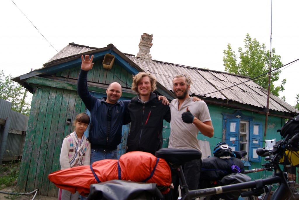 Andrey, hote d un soir a la frontiere entre l Ukraine et la Russie