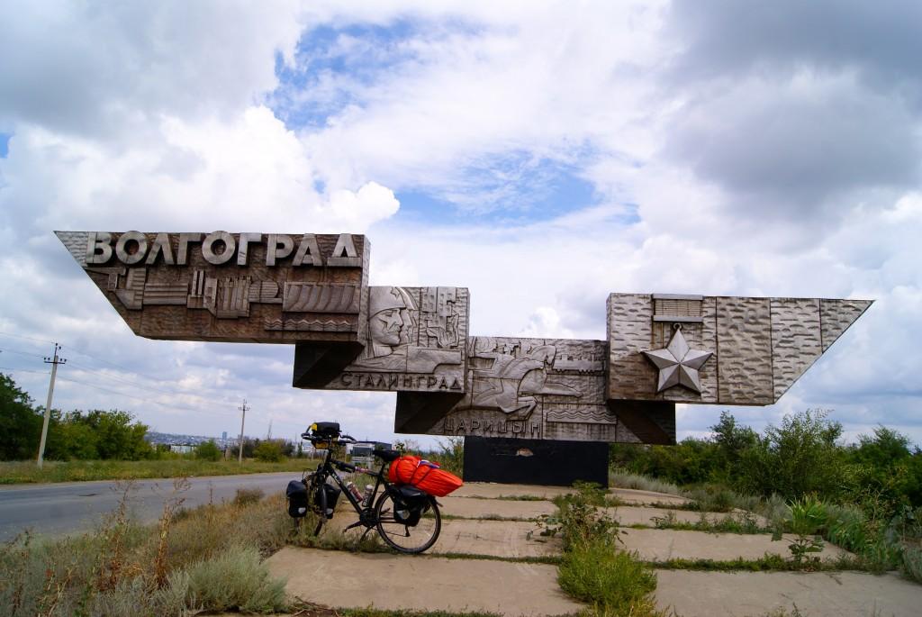 Arrive a Volgograd