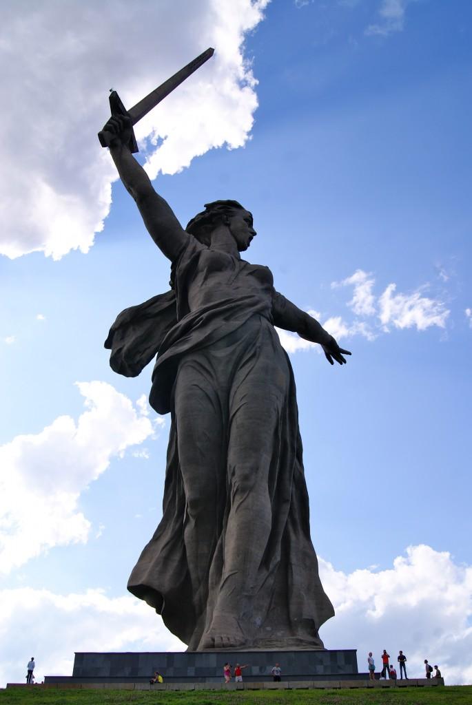 Mamai, plus haute que la Statue de la Liberte !