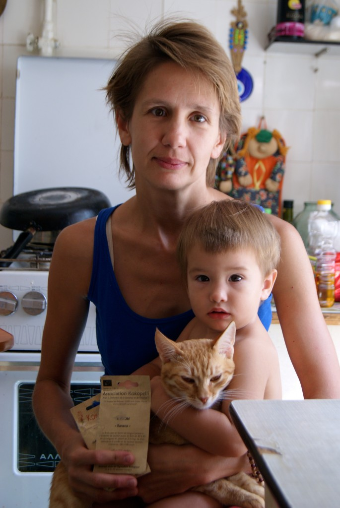 Inga, Mira et le chat
