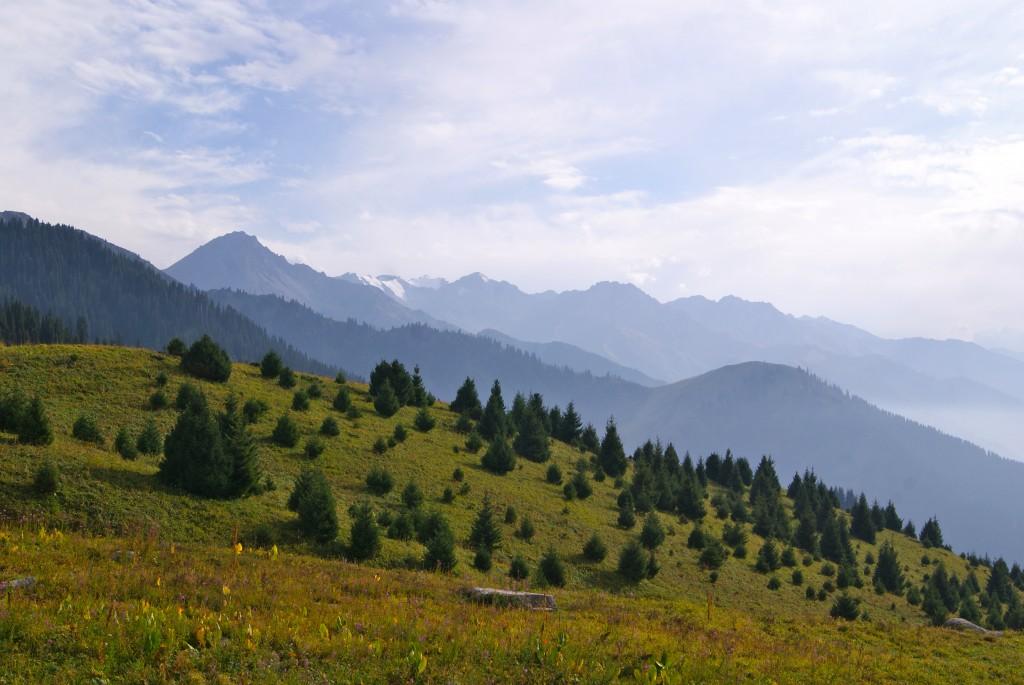 Petite marche en montagne