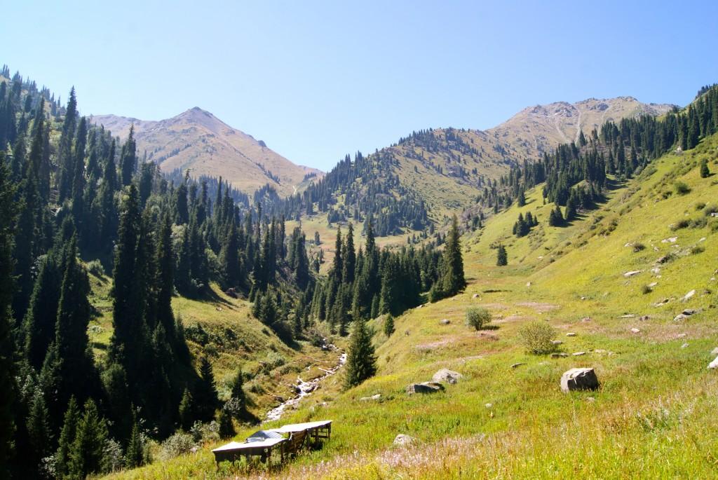 On se croirait dans les Alpes, n'est-ce pas?