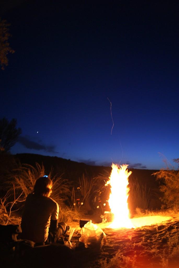 Nuit à la belle étoile plutôt fraîche!