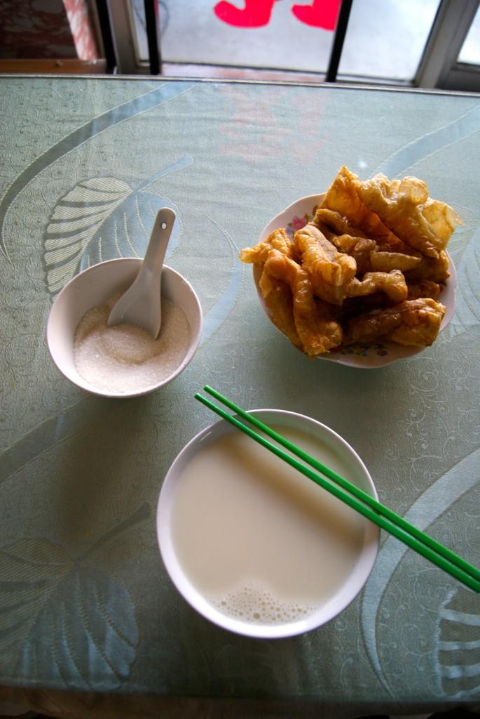 Petit déjeuner sucré, un luxe en Chine!