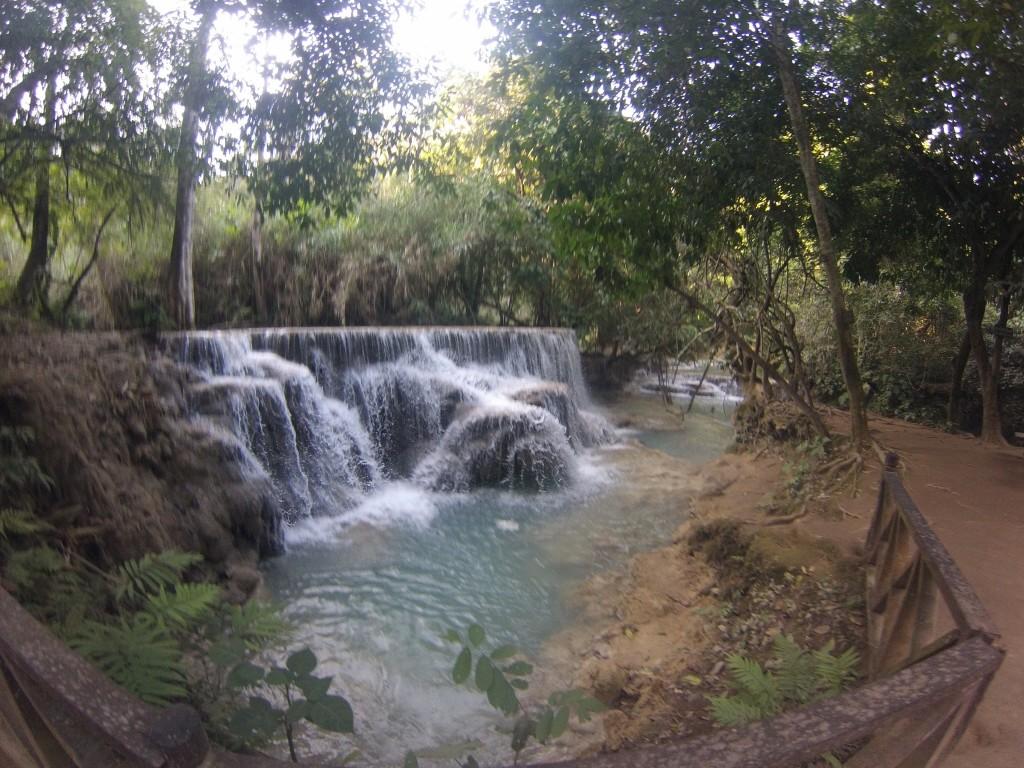 Kuang Si Waterfall, à 35 km de Luang Prabang