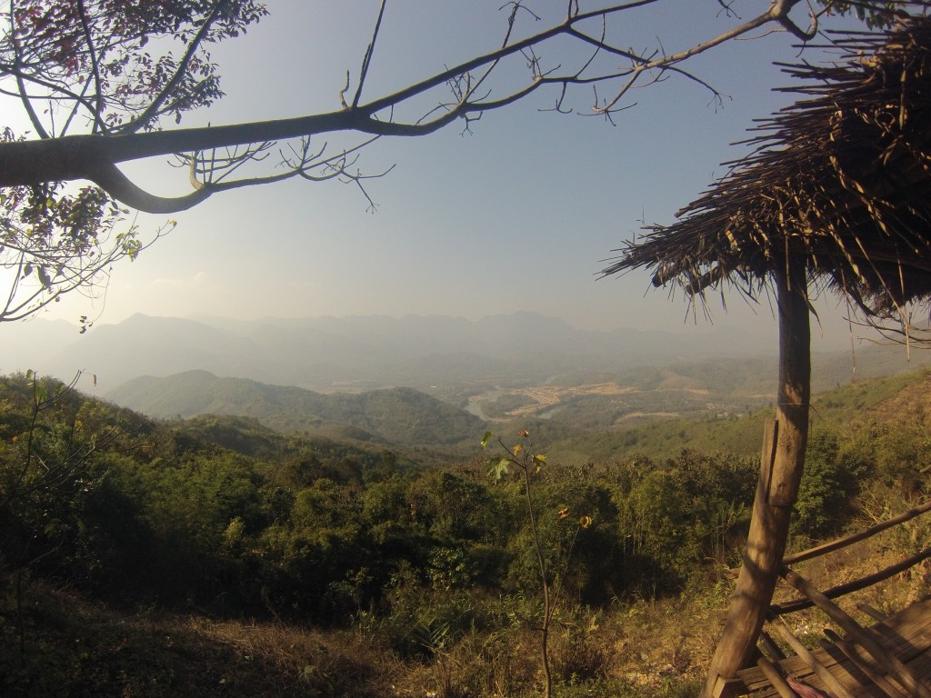 Une belle vue, récompense après 40 km de monté
