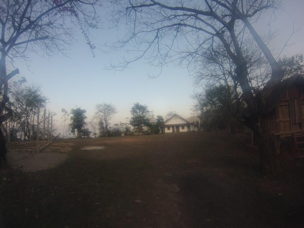Église du village de Houay Hia