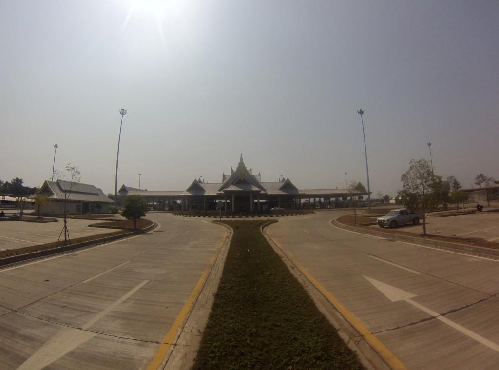 Frontière lao-thailandaise (Thakhek)