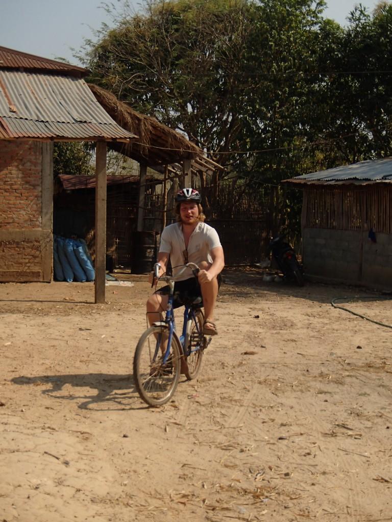 Je songe à changer de vélo... (crédit photos Sandra Gilles)