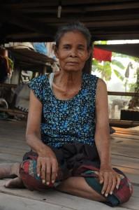 Femme laotienne, 4000 Iles