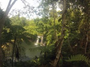 Cascade sur la route de Paksong